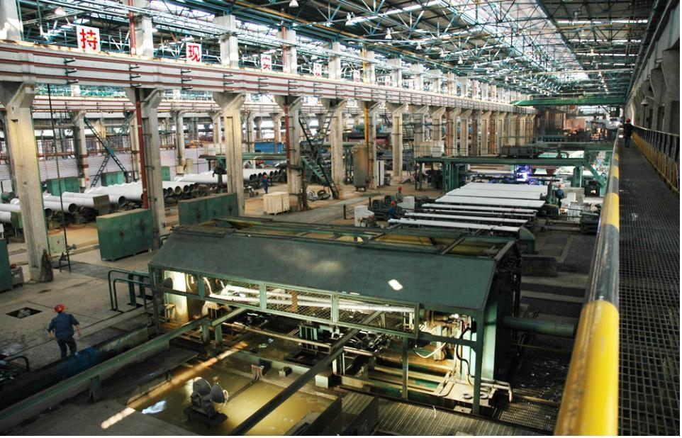 Nhà máy ống gang cầu XinXing