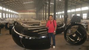 Cút thép hàn cung cấp cho nhà máy Alumin Tân Rai